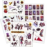 Nightmare Before Christmas Tattoos - 75 Temporary Tattoos ~ Jack Skellington, Sally, Oogie Boogie, and More!