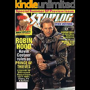 Starlog Magazine The Sci Fi Comics: May 1991