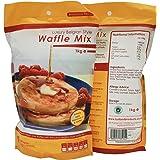 Luxury Belgian Style Waffle Mix - 1kg Bag - Waffle Mixture for Belgian Waffles