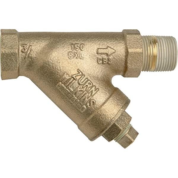 1//2 NPT Female Apollo Valve 59LF Series Bronze Lead Free Y-Strainer 50 Mesh Screen 1//2 NPT Female Conbraco Industries