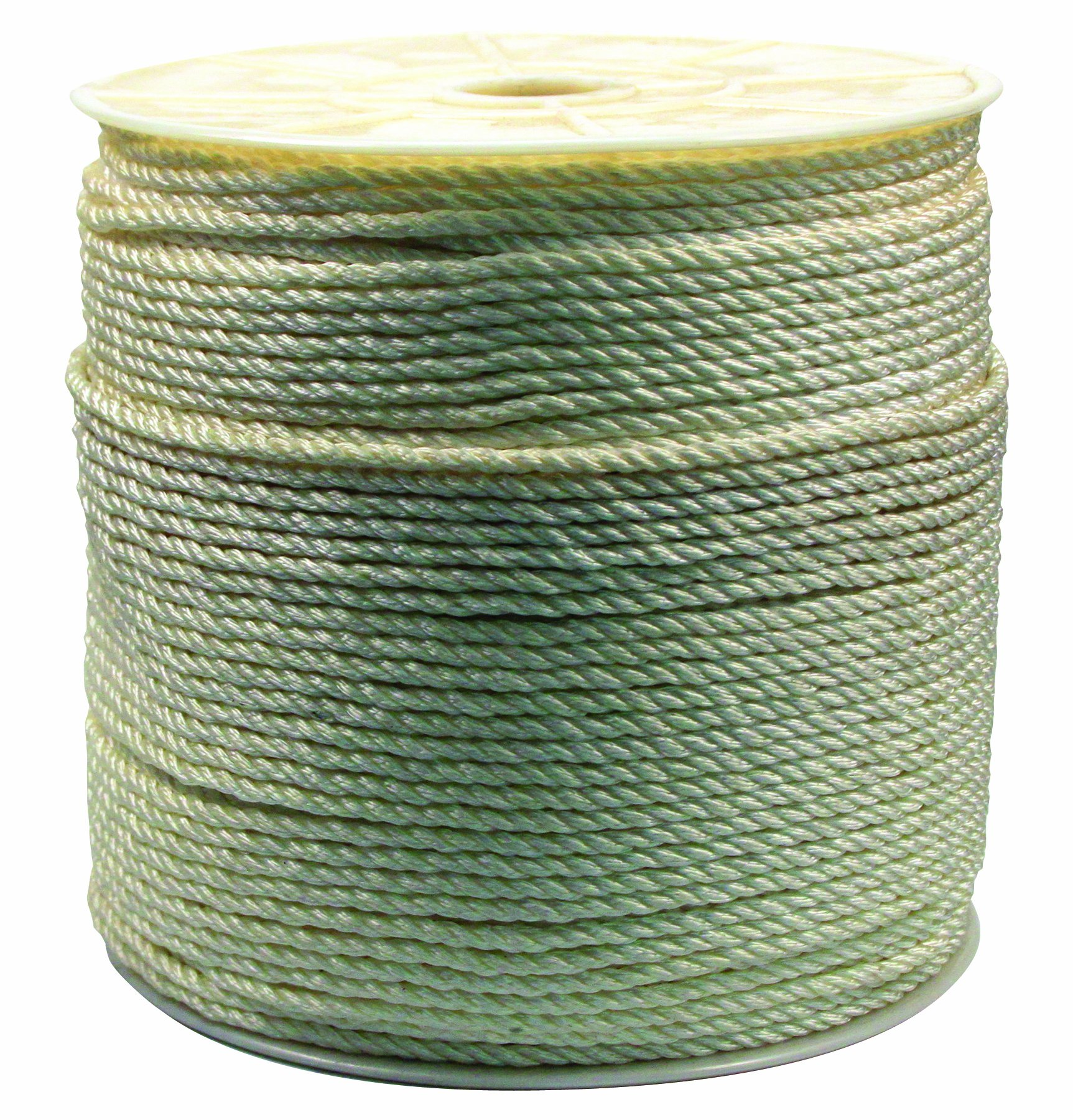 Rope King TN-141200 Twisted Nylon Rope 1/4 inch x 1,200 feet