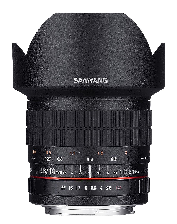 Samyang Fish Eye Lens Objetivo para Nikon distancia focal fija mm negro