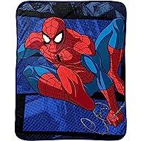 "Marvel Spiderman Burst Plush Throw, 46"" X 60"""