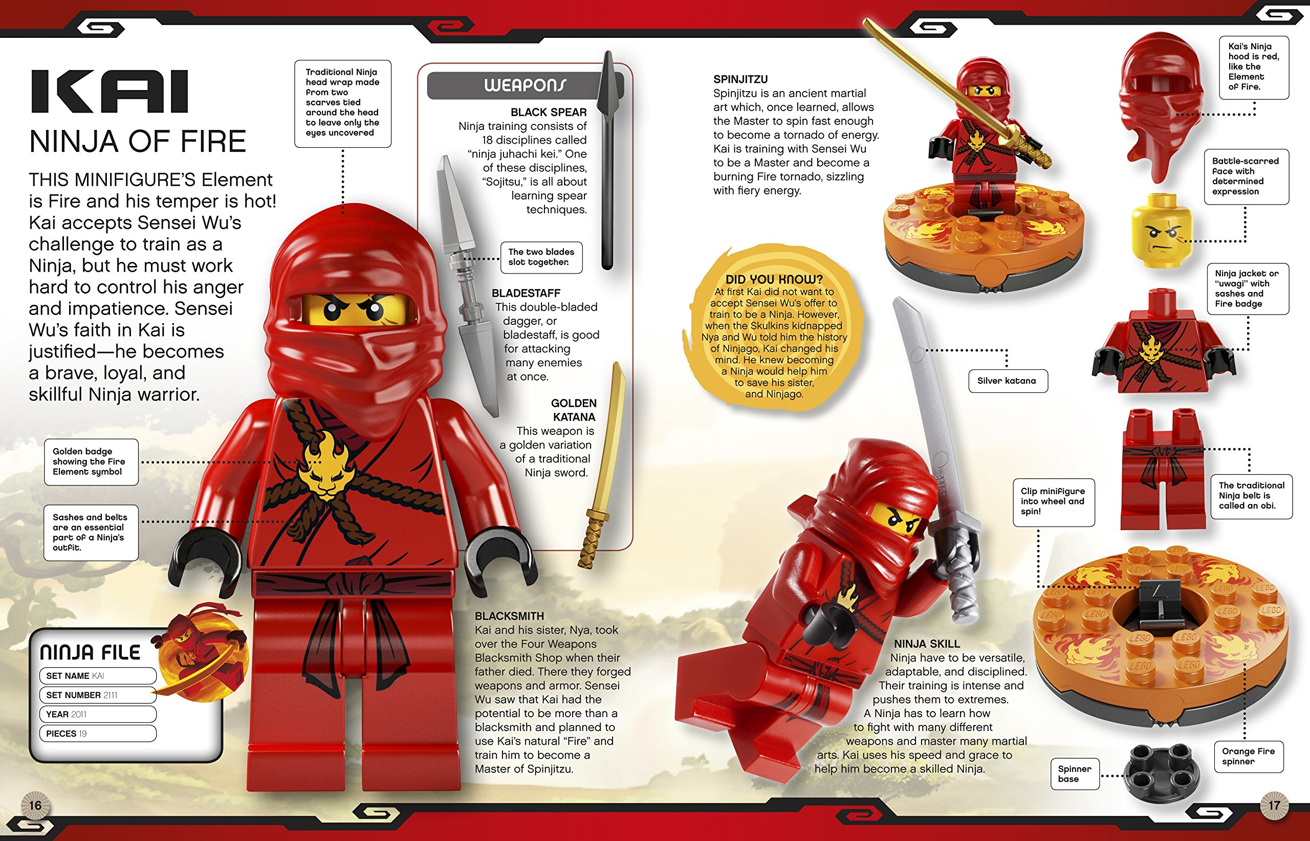 lego encyclopedia ninjago