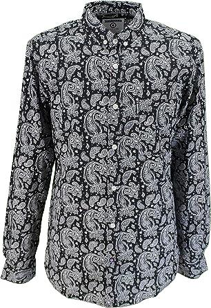 Lambretta Paisley - Camisas para hombre: Amazon.es: Ropa y accesorios