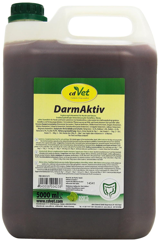 cdVet Naturprodukte DarmAktiv Hund & Katze 5000 ml
