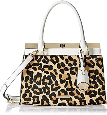 eef5905181c81 Dune London Dusty Women s Handbag (Leopard Pony)  Amazon.in  Shoes ...