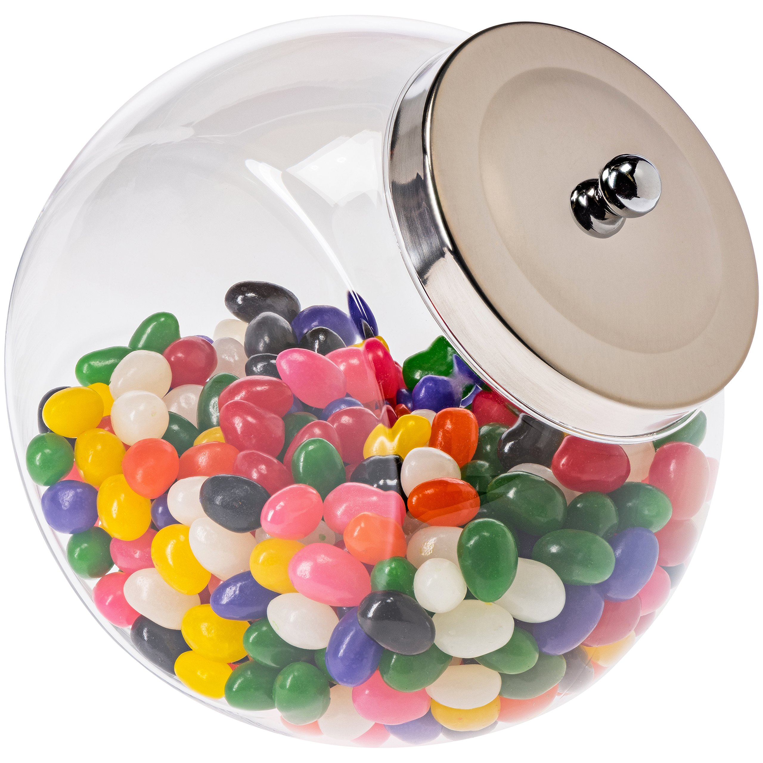 Penny Candy Jar with Lid - Acrylic Penny Candy Jar