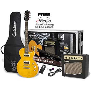 Slash AFD Les Paul Special II Performance Pack UK Version: Amazon.es: Instrumentos musicales