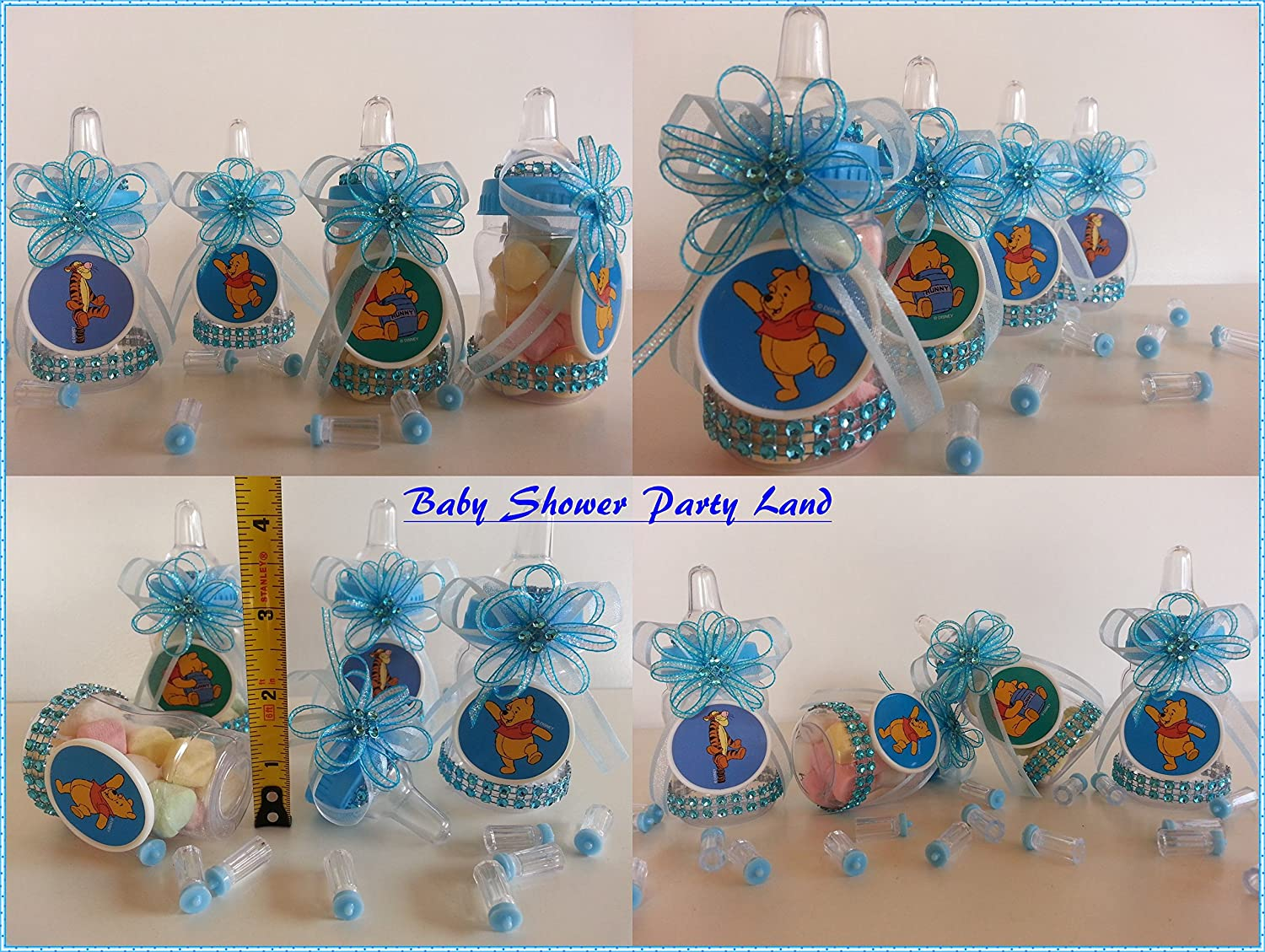 Amazon.com 12 Winnie the Pooh Fillable Bottles Baby Shower