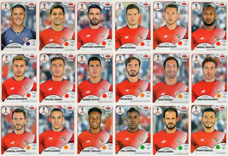 Panini WM 2018 World Cup Russia Michael Umaña Sticker 401 Costa Rica
