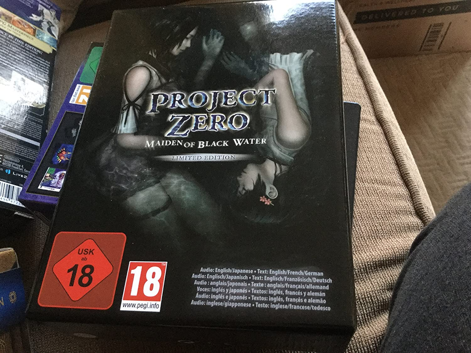 Project Zero: Maiden of Black Water - Limited Edition (Nintendo Wii ...
