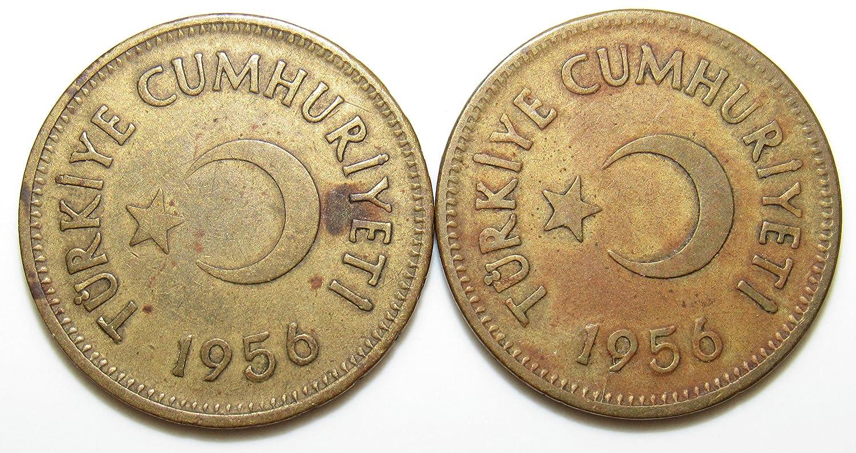 Woman coin Turkey 25 kurus