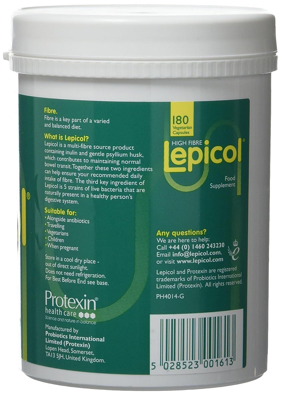 Lepicol - Healthy Bowels Formula - 180 Vegicaps: Amazon.co.uk ...