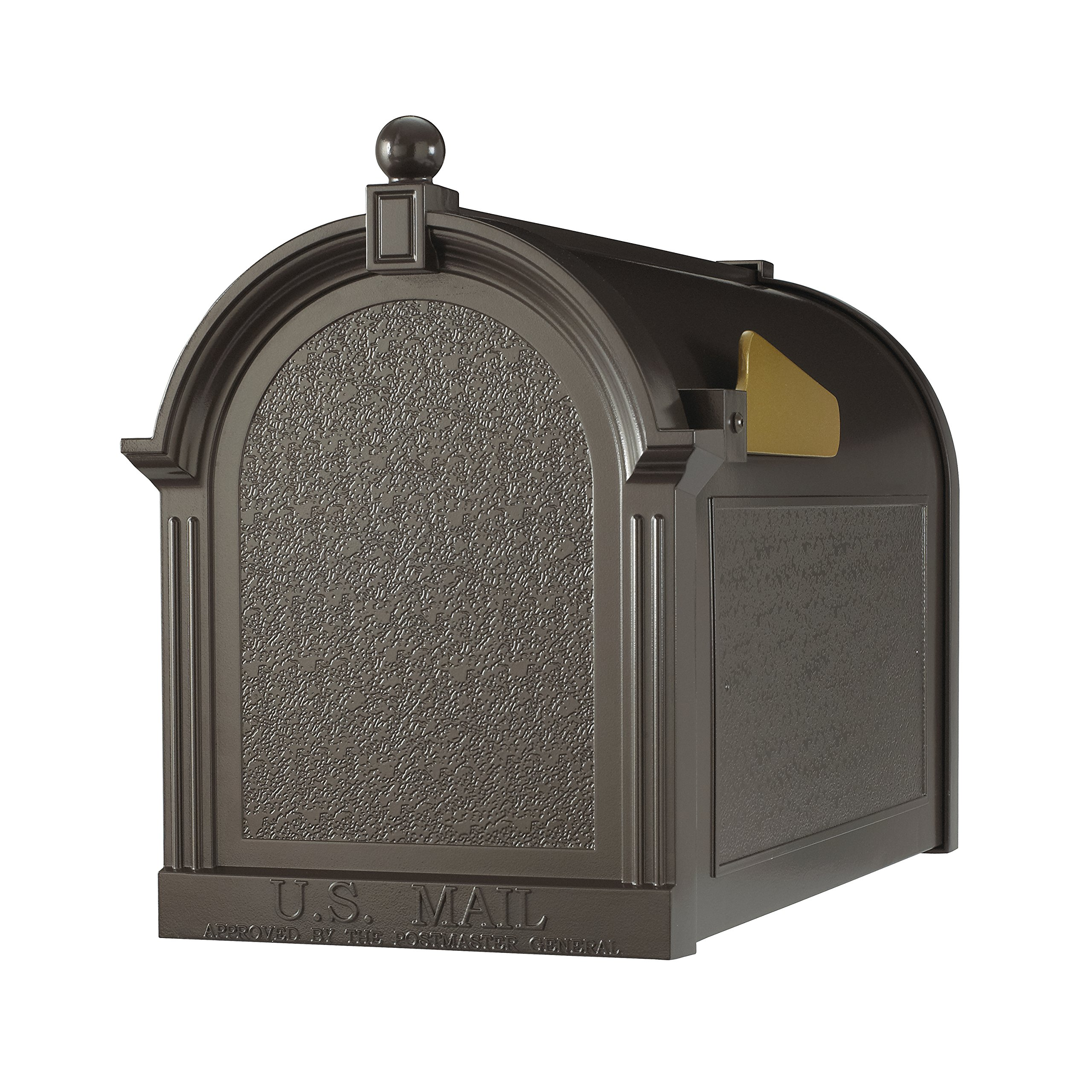 Whitehall Products Capital Mailbox, French Bronze by Whitehall