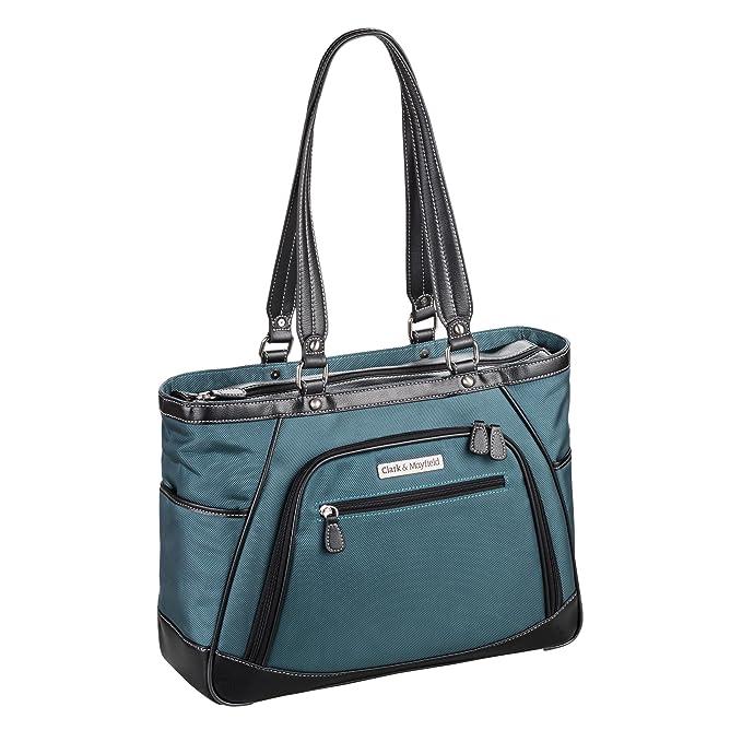 8dd772958be Amazon.com: Clark & Mayfield Sellwood Metro Laptop Handbag 15.6