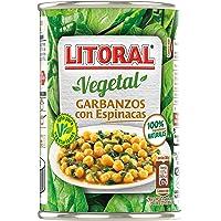 LITORAL Vegetal Garbanzos con Espinacas - Plato Preparado