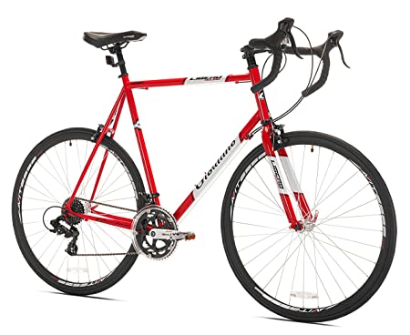 side facing giordano libero acciao road bike
