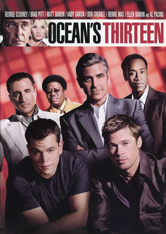 Ocean S Thirteen Dvd Blu Ray