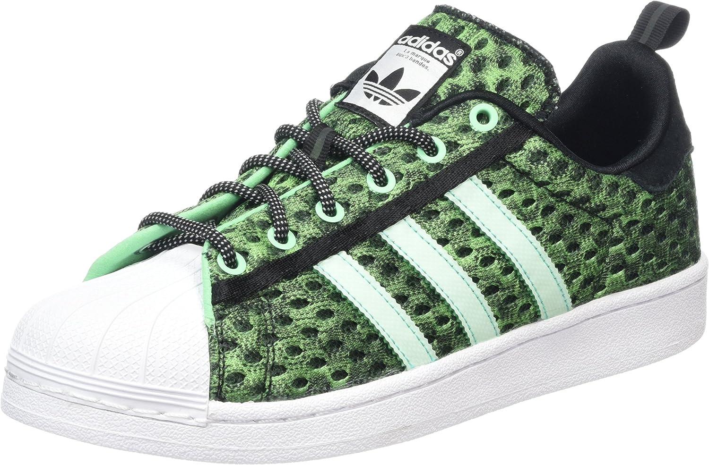 Adidas Originals Hombre Superstar Zapatillas Core Negro Us10 5 Verde Adidas Originals Shoes