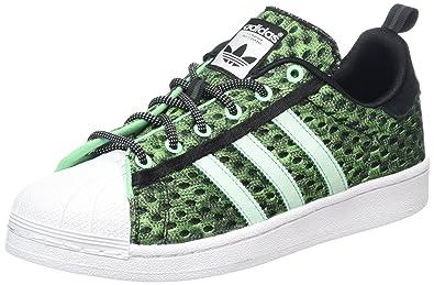 Adidas Superstar GID, Baskets Basses Homme, Schwarz (Core Black/Shock Mint S16