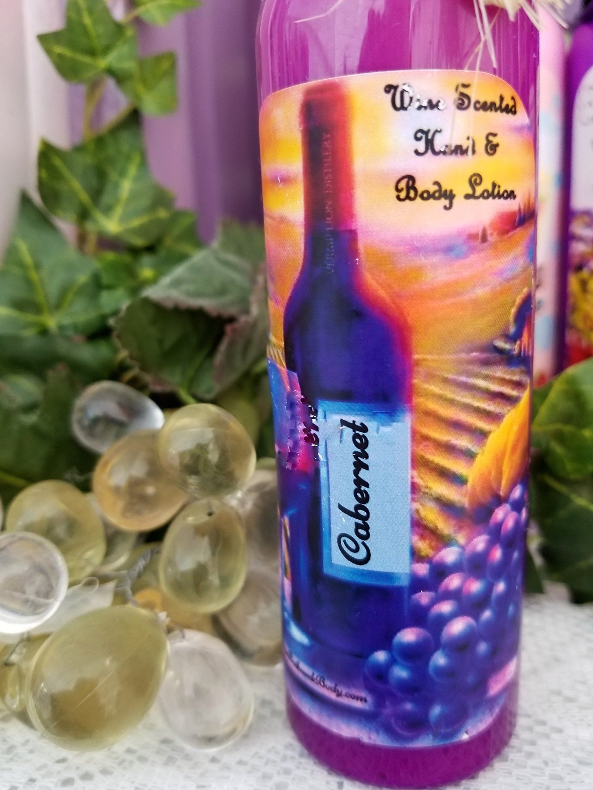 Cabernet Scented Hand and Body Lotion 4oz