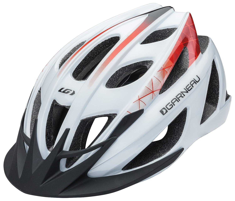 Louis Garneau - HG 1405260_9D9_UA Le Tour Helmet, White/Red Louis Garneau (CA) 1405260-9D9-UA