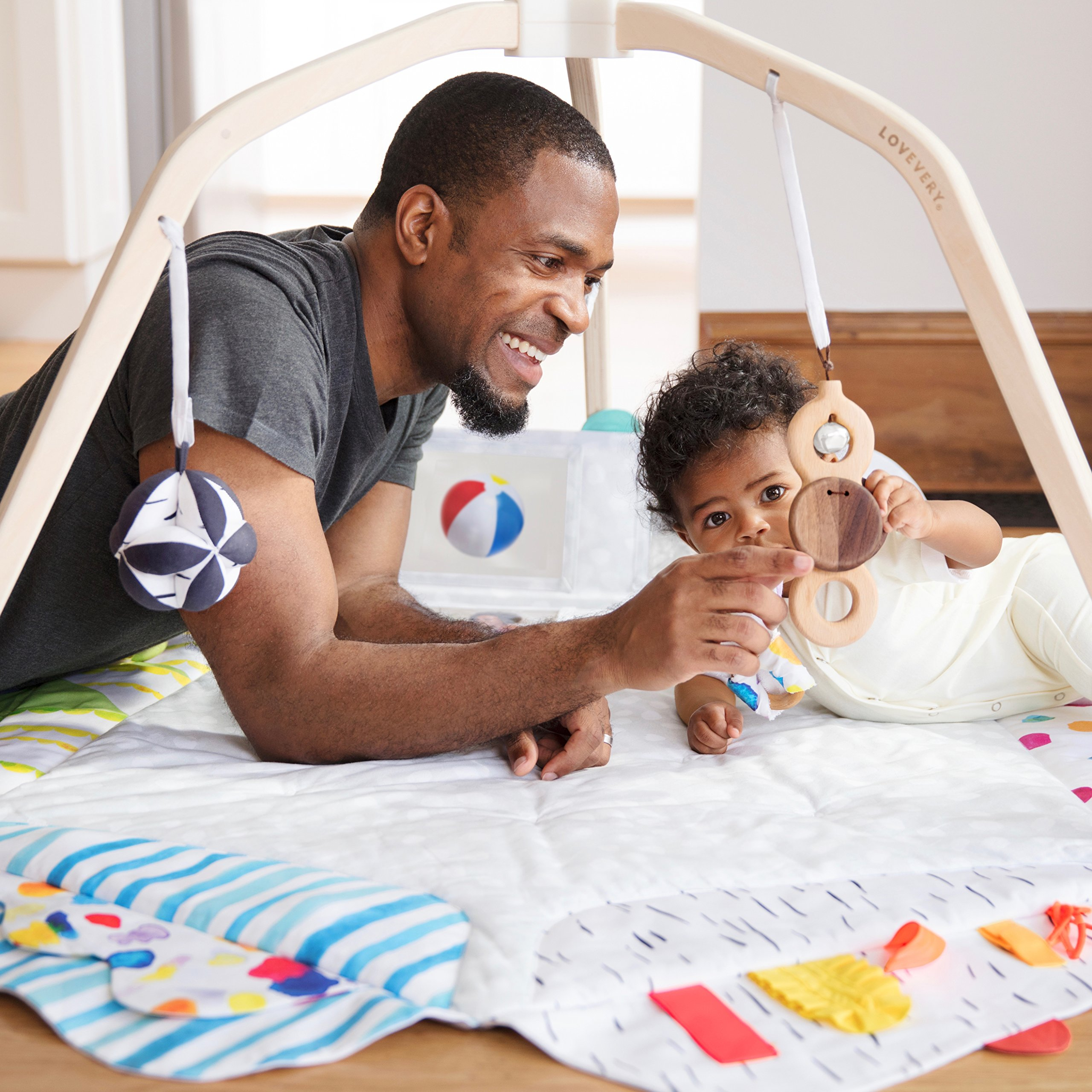 The Play Gym by Lovevery; Stage-Based Developmental Activity Gym & Play Mat for Baby to Toddler by Lovevery (Image #7)