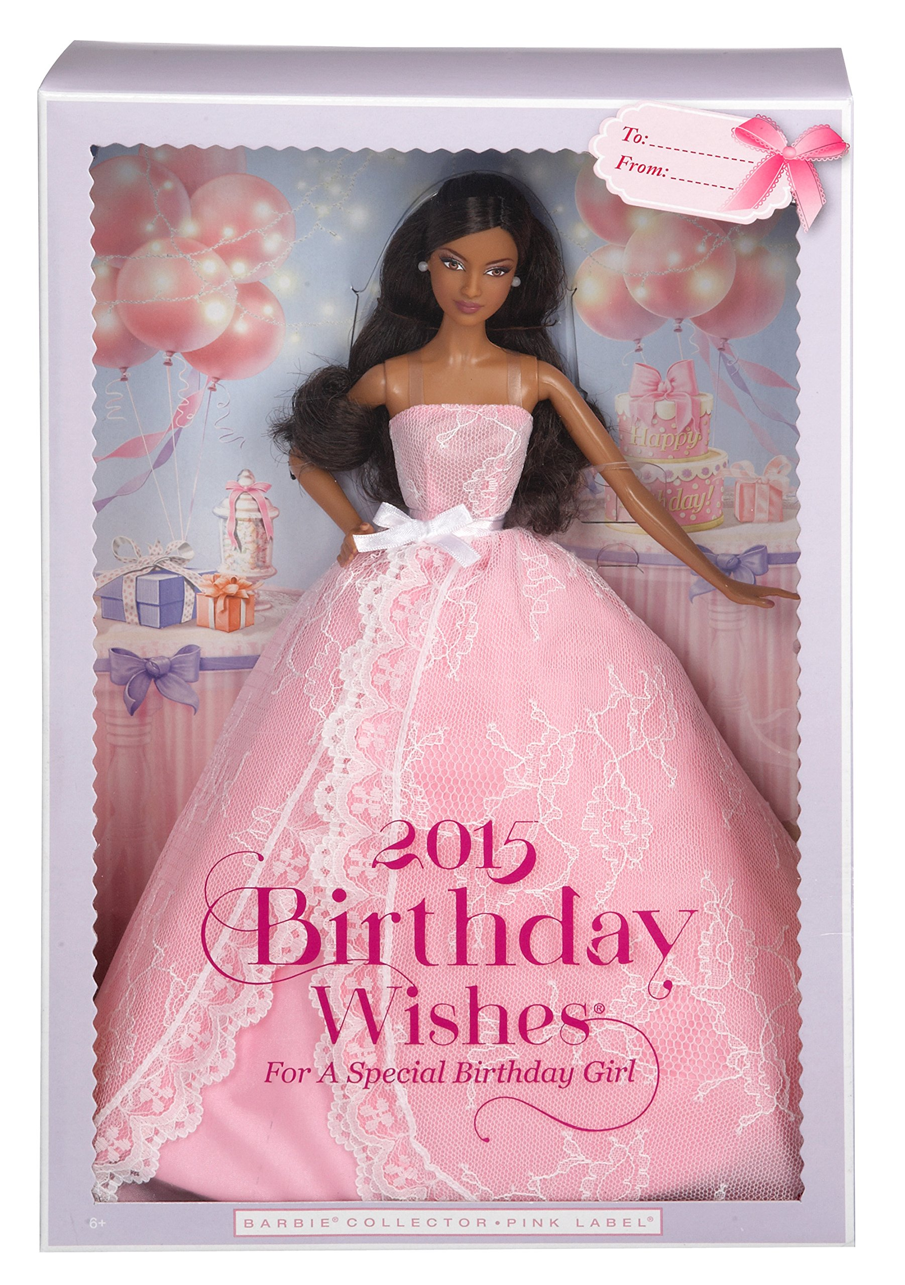 Barbie 2015 Birthday Wishes Doll, Dark Hair