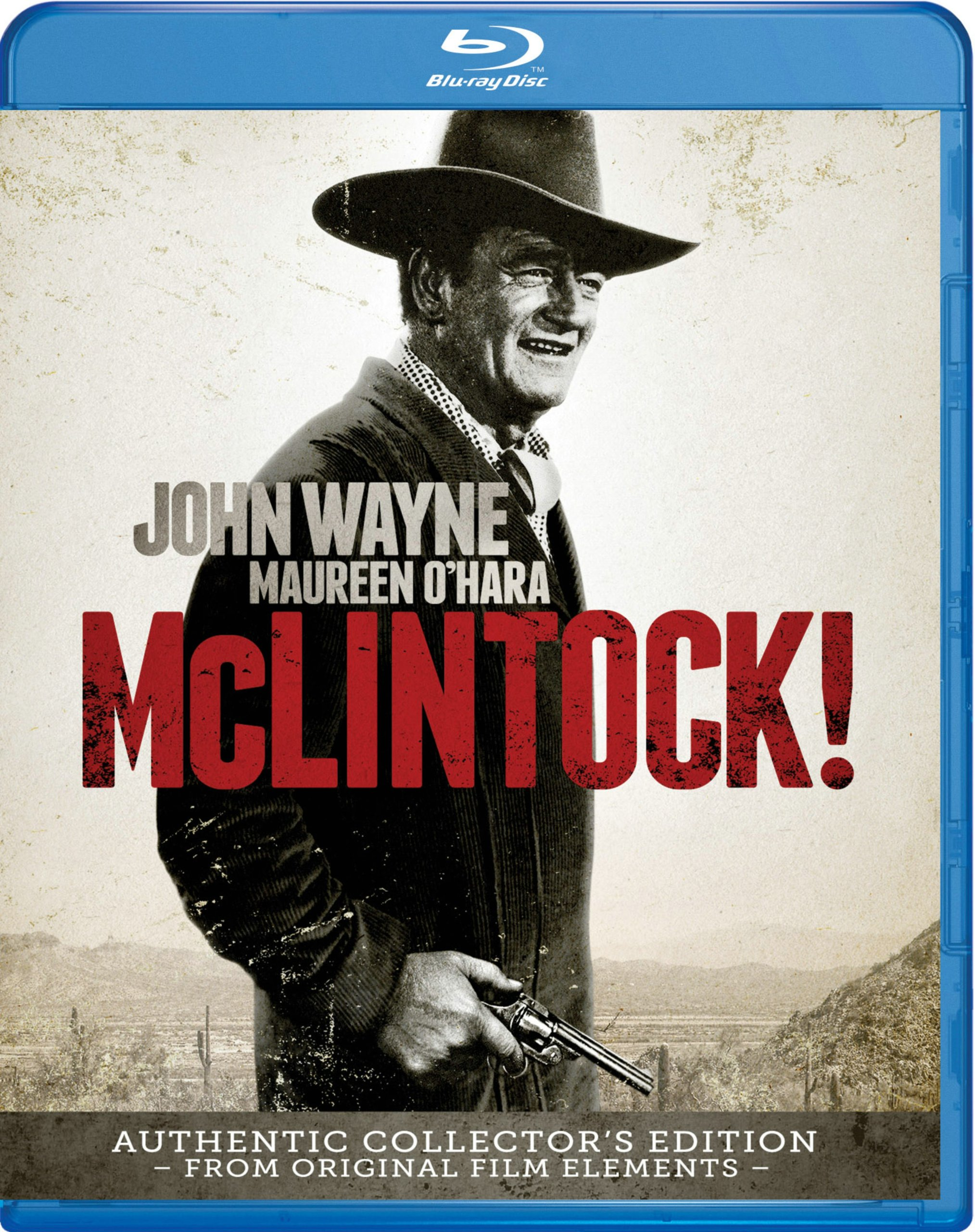 Blu-ray : McLintock (Dubbed, , Widescreen, Sensormatic)