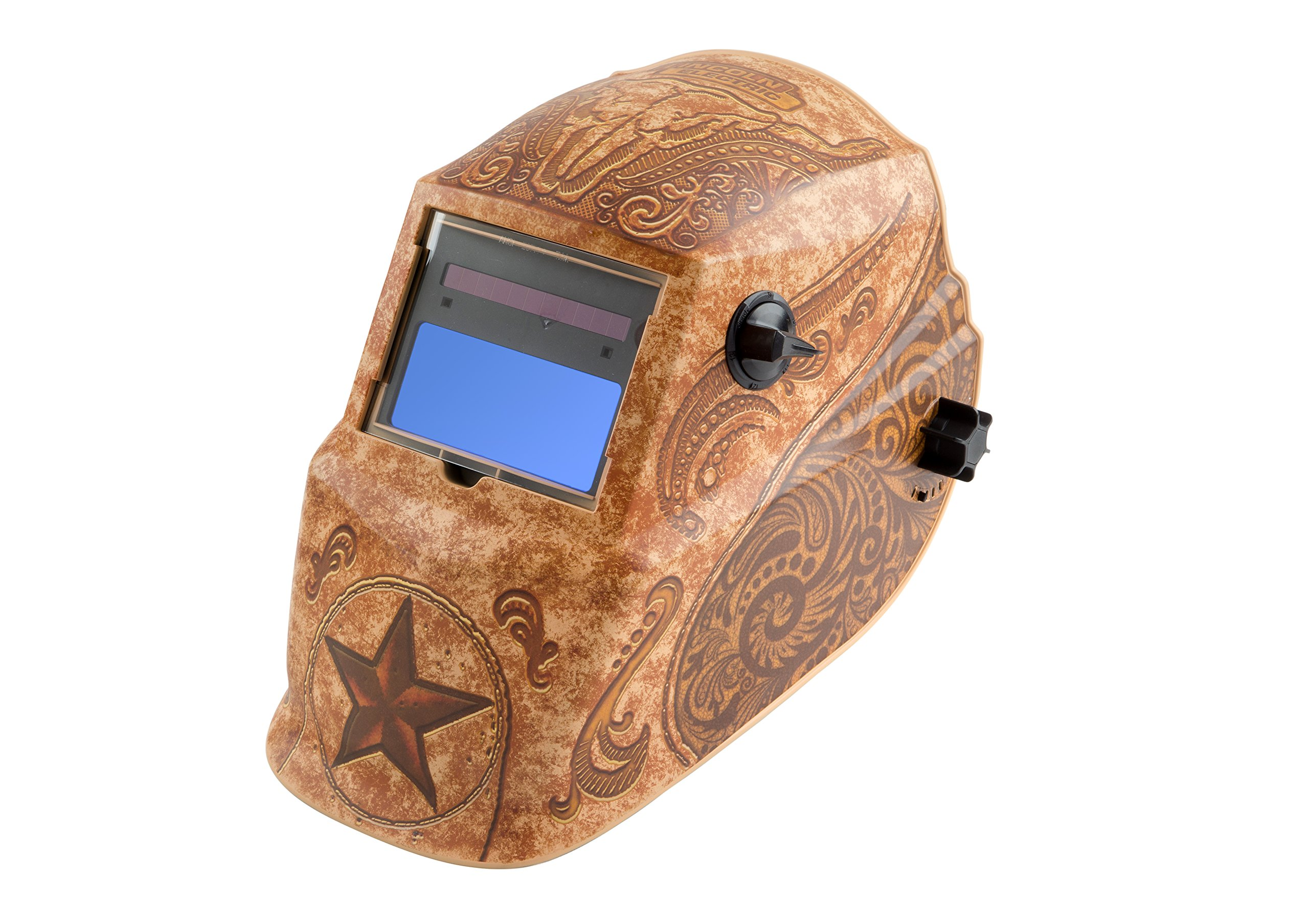 Lincoln Electric K4134-1 Lone Star Auto Darkening Welding Helmet with Grind Mode by Lincoln Electric (Image #1)