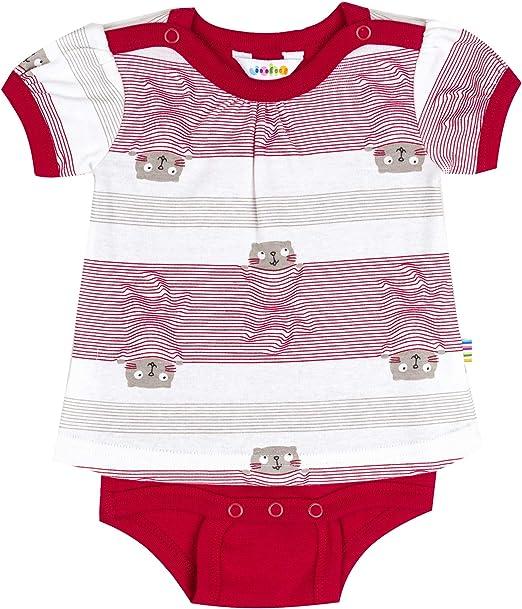 JOHA - cuerpo camisa (Combinación de Camiseta y Body) Bebé Niña Manga corta ACOGEDOR en rojo: Amazon.es: Ropa y accesorios