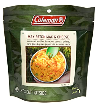 Coleman Dehydrated Backpack Camping Food Max Patch Macaroni And Cheese 303