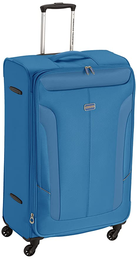 American Tourister Maletas y trolleys, 79 cm, 114 L, Azul