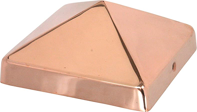 "Apex 6x6 Pyramid Post Cap 5 1//2/"" x 5 1//2/"" for Deck and Fence Po Matte Bronze"