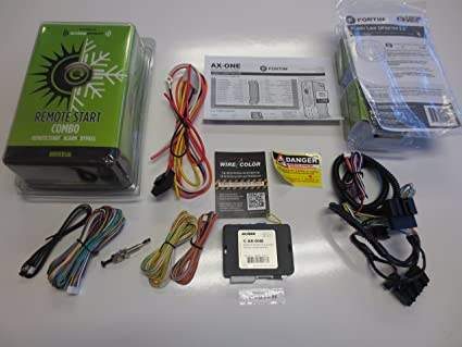 Amazoncom Complete Plug Play Remote Start W Security T - Acura mdx remote start