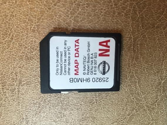 9HM0B NISSAN CONNECT SD CARD , NAVIGATION GPS MAP DATA , NAVTEQ , NA/NORTH AMERICA US CANADA 2014 2015, 25920-9HM0B ,14-15 ROGUE / 2014 -2015 JUKE / ...