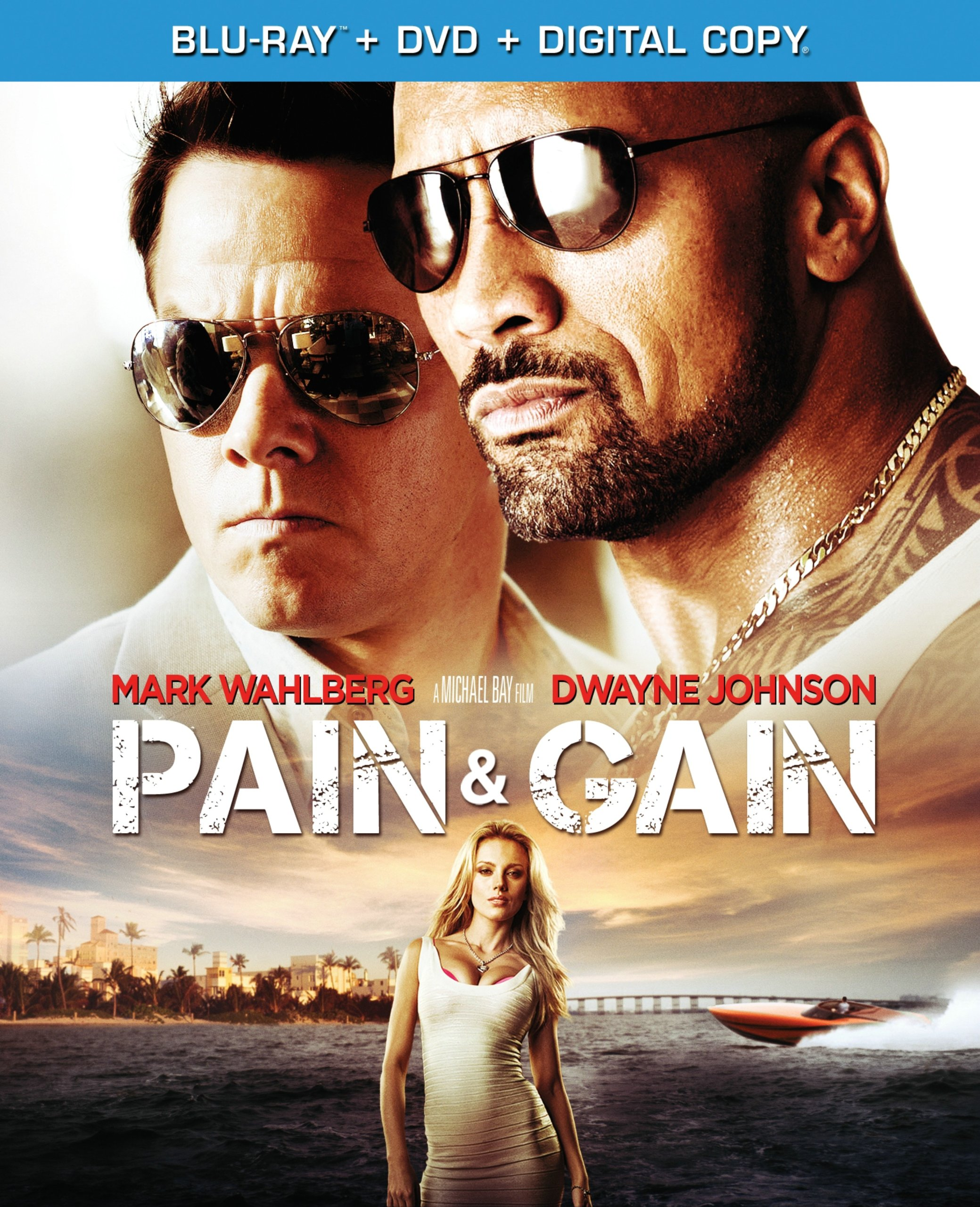 Blu-ray : Pain and Gain (With DVD, Dubbed, Widescreen, , Digital Copy)