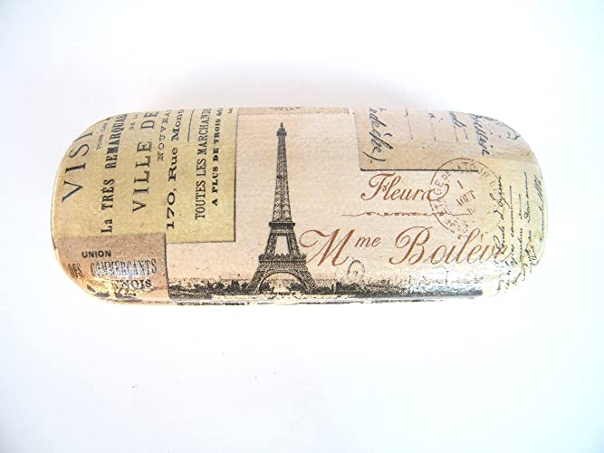 Paris Estuche De Gafas, Funda Dura Para Gafas 16 cm, Vision ...