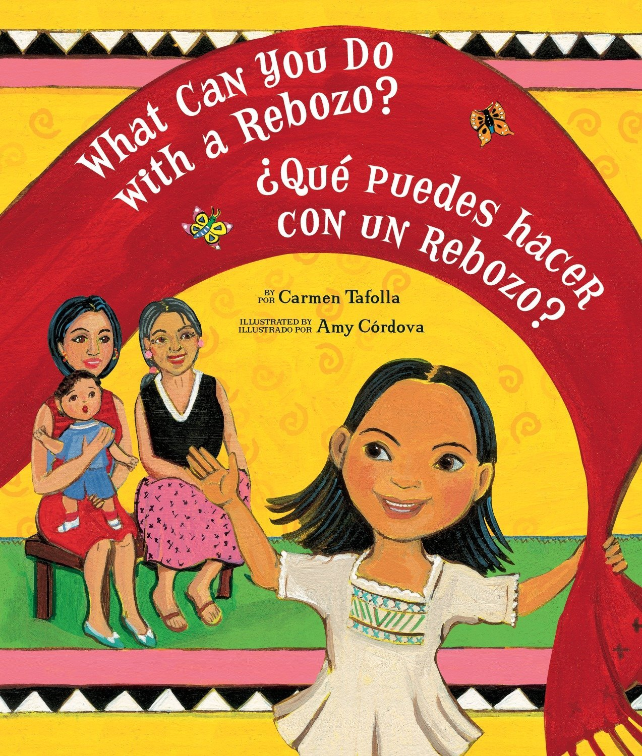 Read Online What Can You Do With a Rebozo?/¿Qué puedes hacer con un rebozo? (English and Spanish Edition) PDF