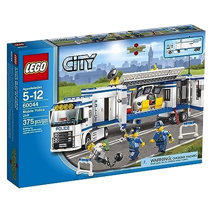 Amazoncom Lego City Police 60044 Mobile Police Unit Toys Games