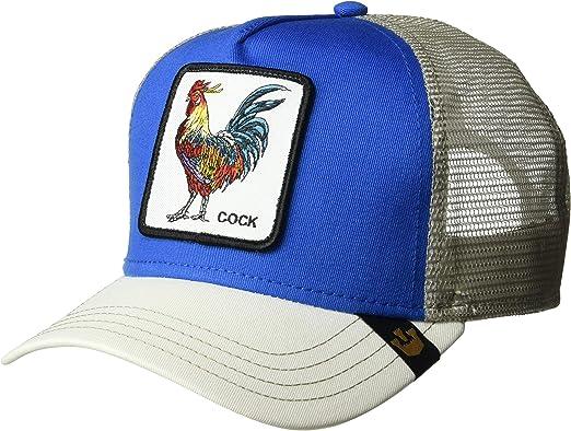 Goorin Bros. Gorra de béisbol para Hombre. Azul y Blanco. Talla única: Amazon.es: Ropa y accesorios