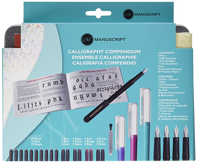 Amazon manuscript calligraphy compendium set