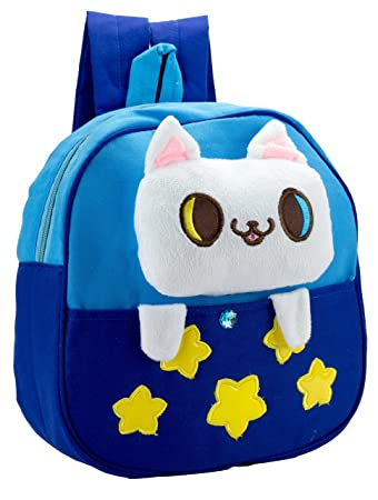 a5391f686daf Amazon.com  JS My First Backpack - Cute Cartoon Animal Cotton Bag ...