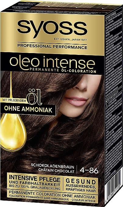 SYOSS Oleo Intense - Coloración permanente de aceite 4-86 ...