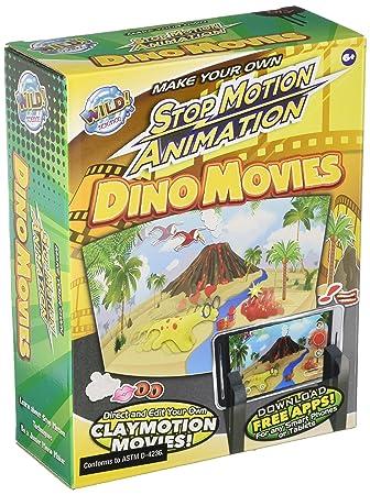 Tedco Juego salvaje ciencia - Dino Stop Motion Aprendizaje ...