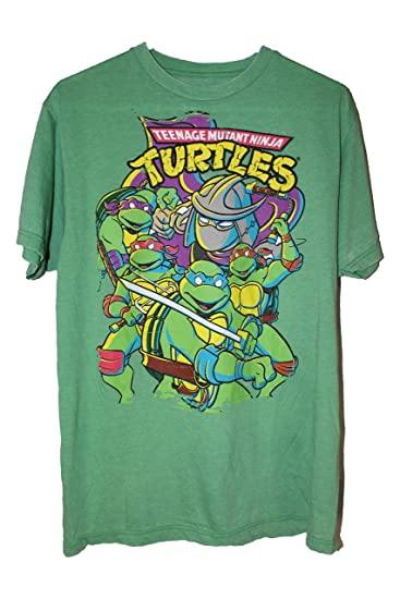 f1067acc Amazon.com: ADA Teenage Mutant Ninja Turtle t-Shirt Vintage Green ...