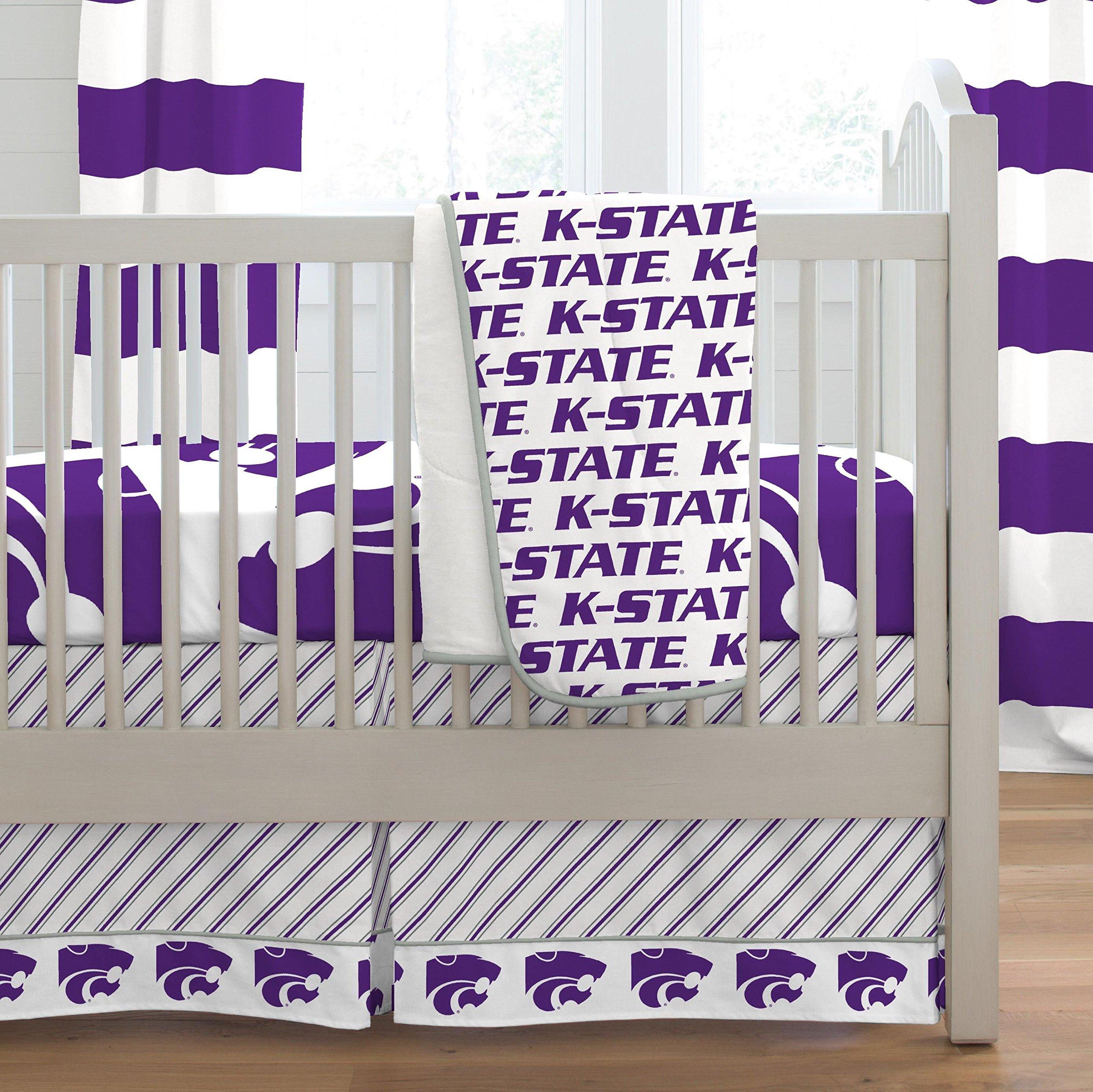 Carousel Designs Kansas State Crib Comforter