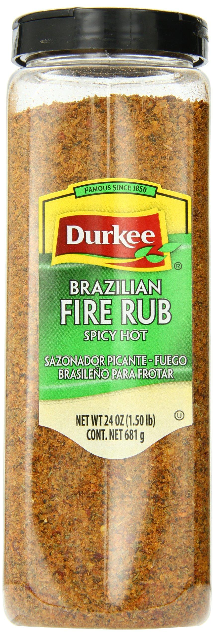 Durkee Brazilian Fire Rub, 24-Ounce