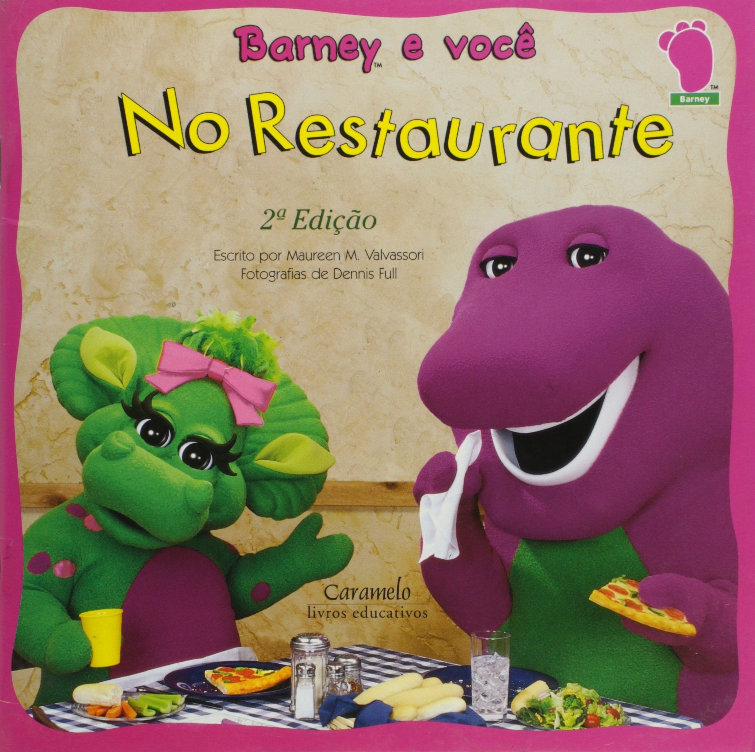 No Restaurante - Coleção Barney E Você (Em Portuguese do ...